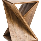 Twisted Mango Wood Accent Table