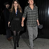 They enjoyed a romantic night out in London.