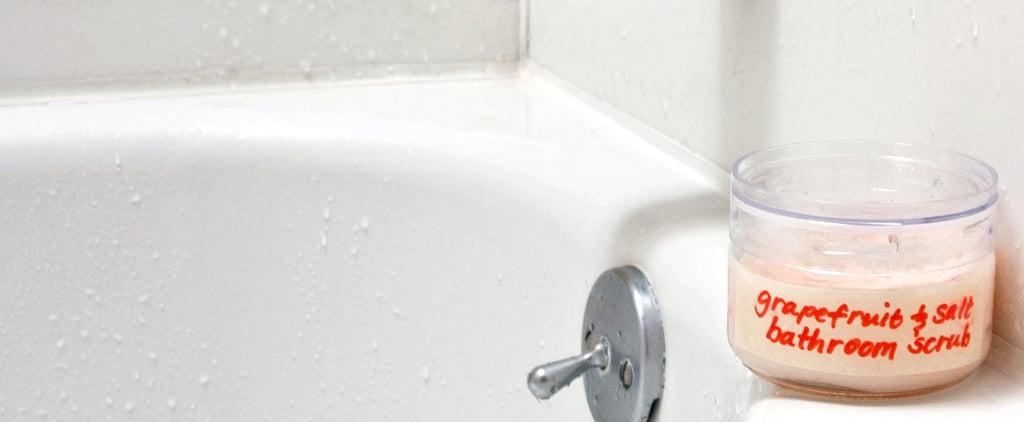 Grapefruit and Salt Bathroom Scrub