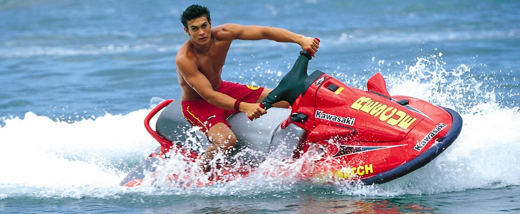 Jason Momoa's Baywatch Days Are a Tropical Gift to Us All