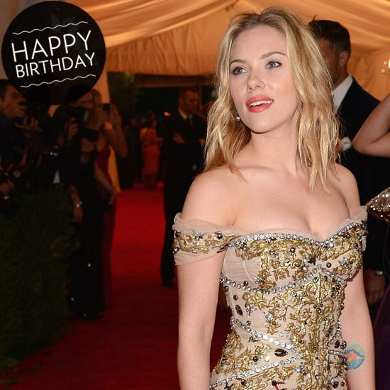 Happy Birthday, Scarlett Johansson! We're Taking a Look Through her Best Style Moments