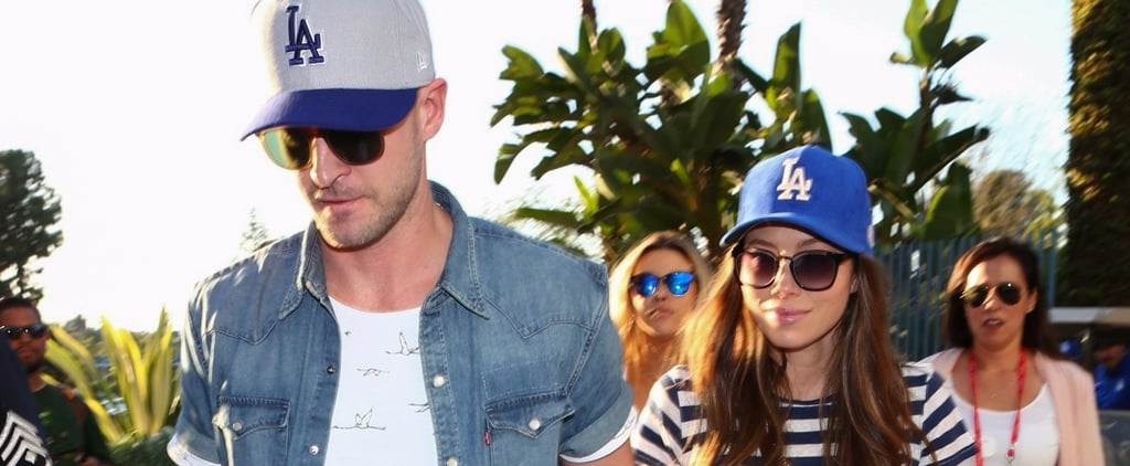 Justin Timberlake and Jessica Biel Hit It Out of the Park With Their Adorable Date Night