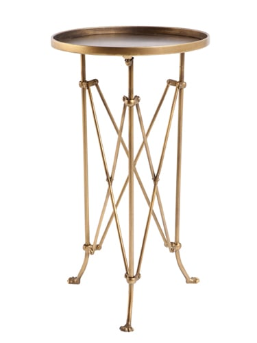 This metal accordion side table ($78) from Urban Outfitters is so versatile. It could make a great accent piece in any living room, bedroom, or dorm. — Becky Kirsch, entertainment director