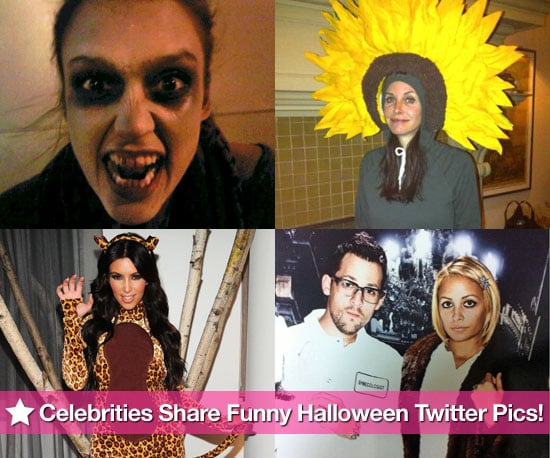 Funny Halloween Celebrity Twitter Pictures 2010-11-01 16:00:00