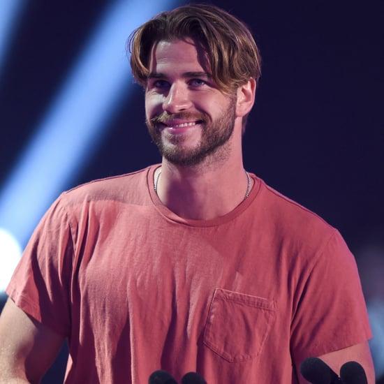 Liam Hemsworth at 2015 Kids Choice Awards