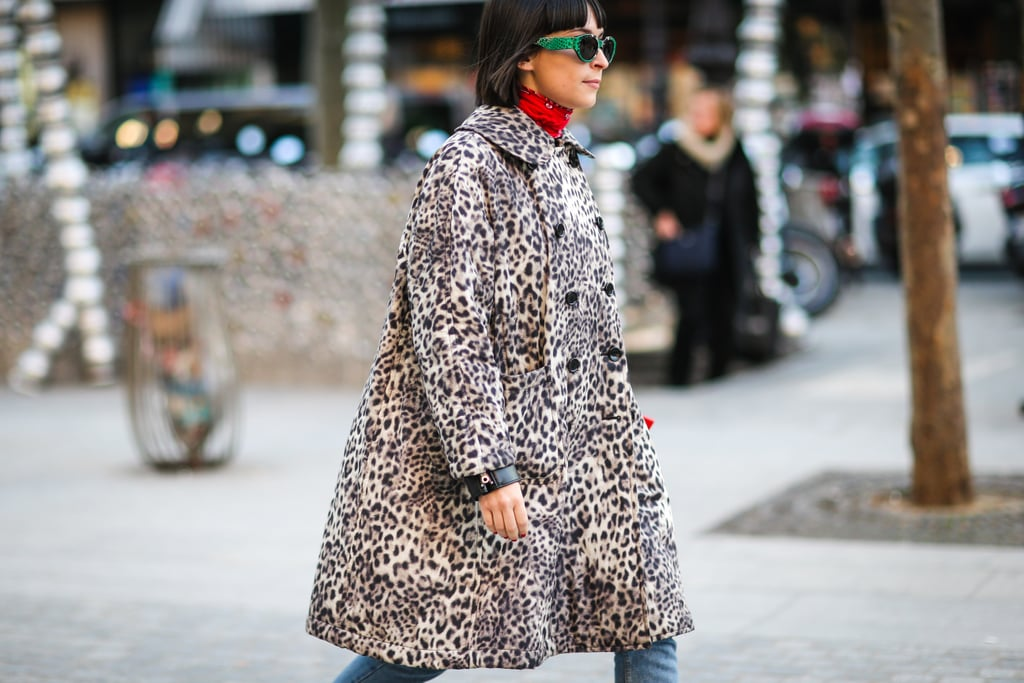 Accent Your Leopard With Bright Pops of Color