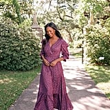 Gal Meets Glam Collection Cassandra Floral Jacquard Maxi Dress