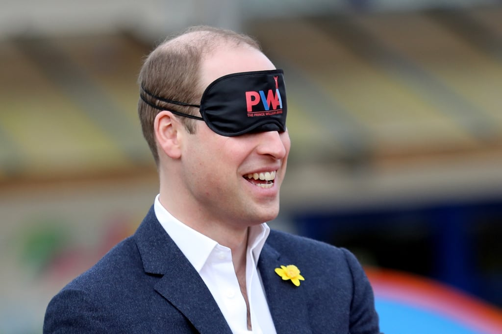 Prince William went into full dad mode when he visited Abergavenny on Wednesday to celebrate St. David's Day. The famous royal participated in a number of team-building exercises as he launched the new Prince William Award with SkillForce in an effort to help boost children's confidence and resilience. Not only did he help a group of school children build towers with marshmallows and straws, but he also managed to pitch a tent completely blindfolded. The prince has certainly been keeping busy these past few weeks. Aside from spending fun-filled days with schoolchildren and attending royal receptions for Queen Elizabeth II, the father of two recently had a picture-perfect date night with his wife, the Duchess of Cambridges when they mingled with the stars at the BAFTA Awards in London.