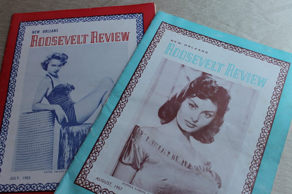 Copies of the Roosevelt Review From 1955 and 1957
