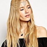 ASOS Draping Crystals Hair Crown