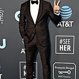 Milo Ventimiglia at the 2019 Critics' Choice Awards