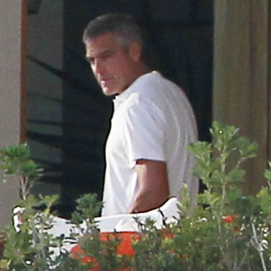 George Clooney & Stacy Keibler Cabo For New Years Pictures