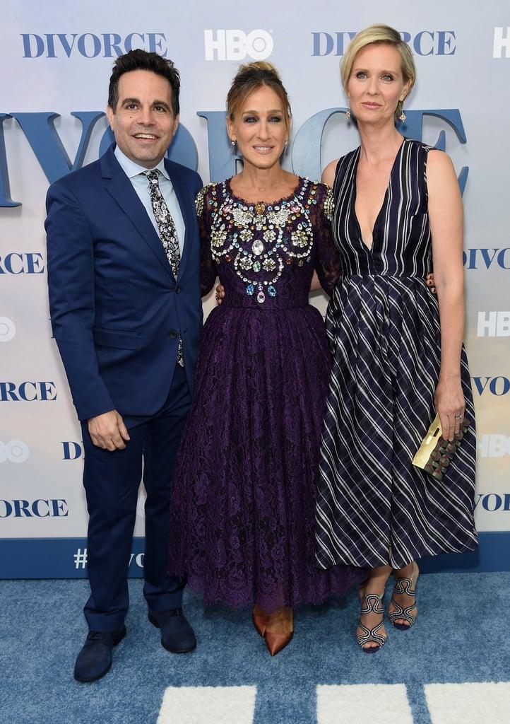 Sarah Jessica Parker at Divorce Premiere in NYC 2016