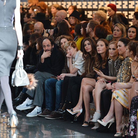 Pictures of Celebrity Front Row at Fendi Milan Fashion Week