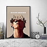 Shawn Mendes Flower Poster