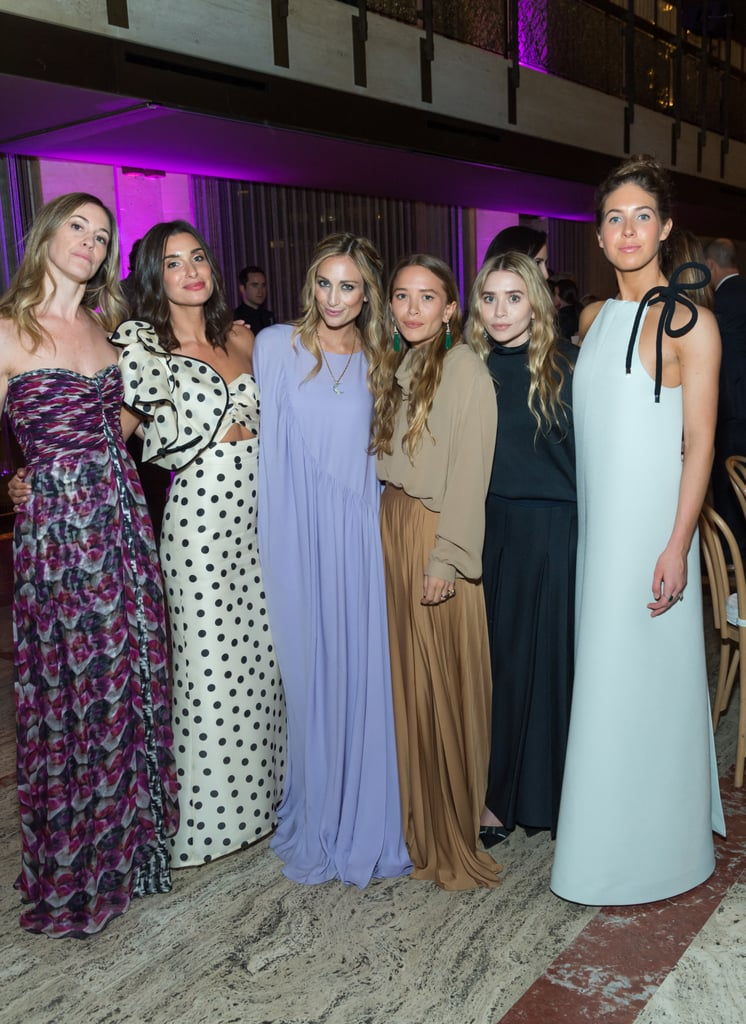 Mary-Kate and Ashley Olsen Long Skirts and Turtlenecks
