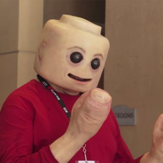 Life-Size Lego Man