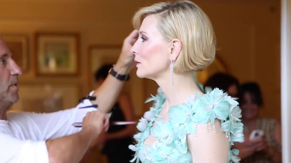 WATCH: Cate Blanchett Getting Ready For the Oscars