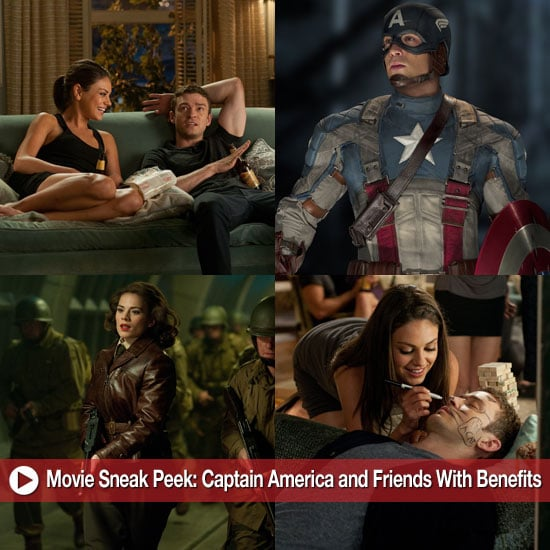Movie Sneak Peek: Captain America and Friends With Benefits!
