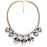 F-U Fashion Flower Leaf Statement Necklace $15