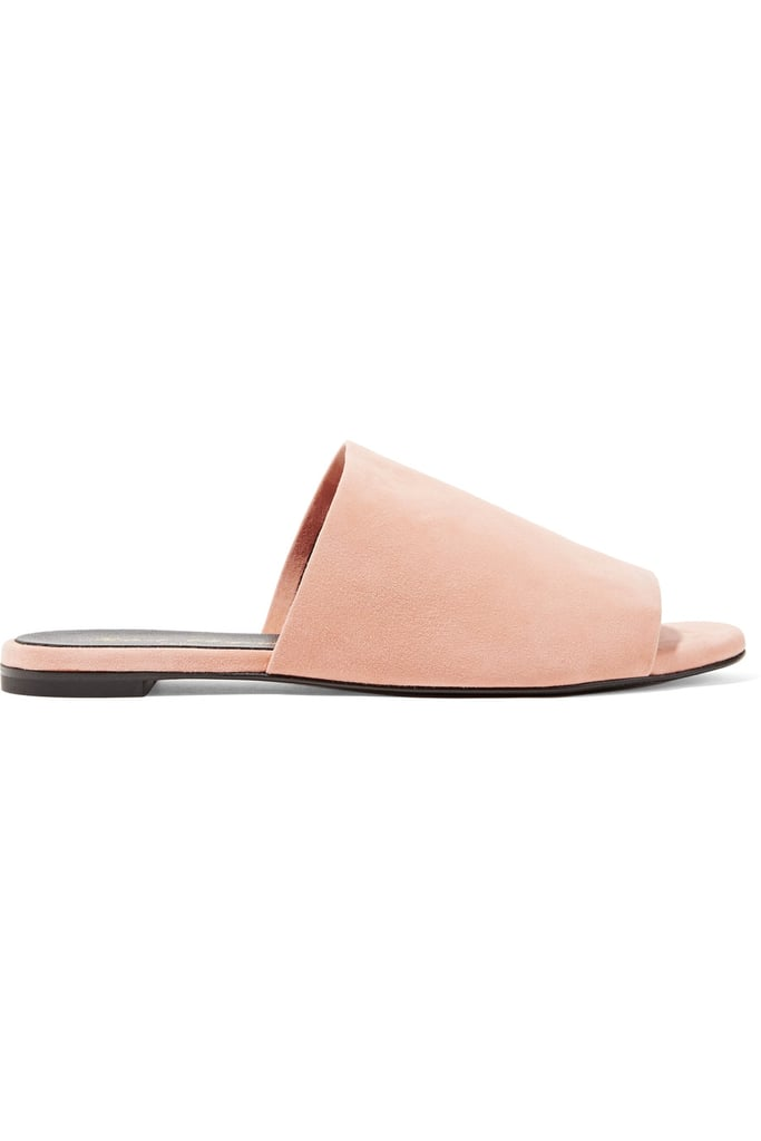 Robert Clergerie Gigy Textured-Leather Slides