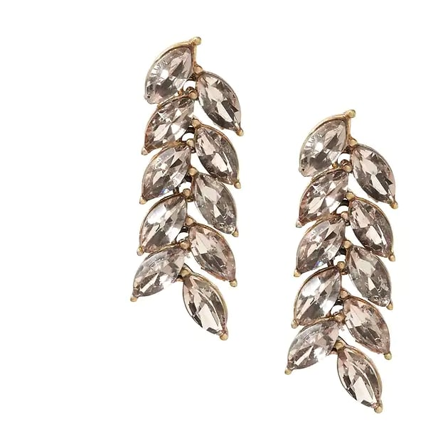 Autumn Wheat Simple Linear Earrings