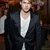Chord Overstreet smiled at the Condé Nast Traveler Hot List Party in LA.