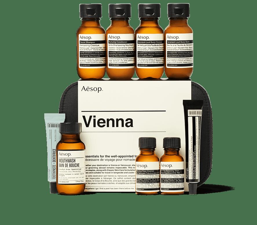 Aesop Vienna Travel Kit
