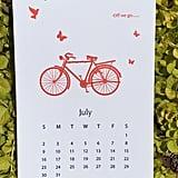 2017 Letterpress Calendar ($35)