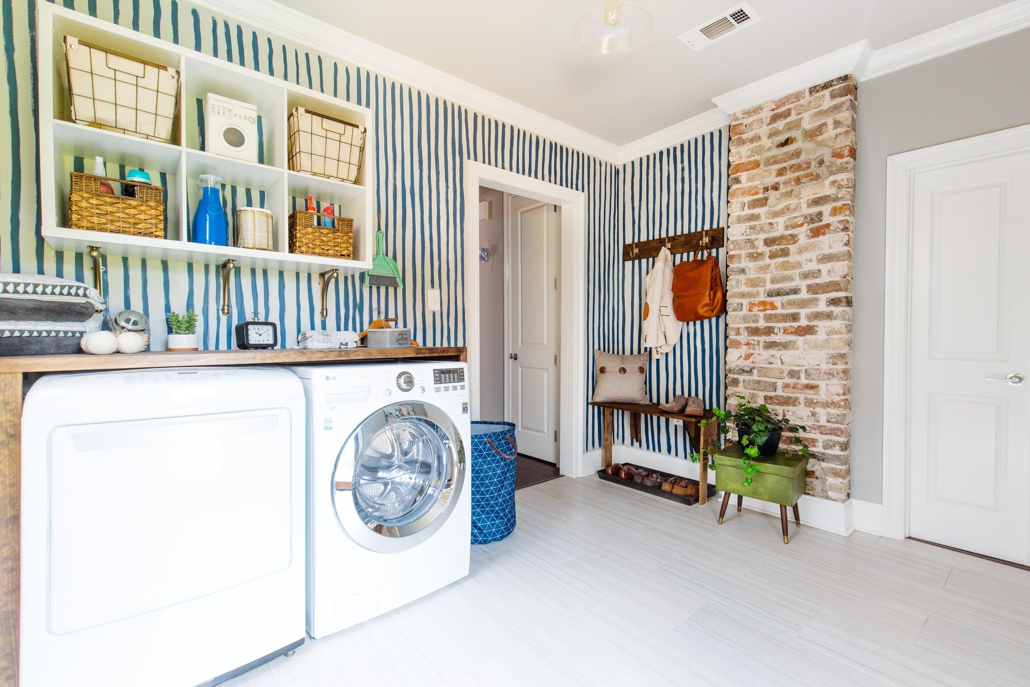 Lowe S Laundry Room Makeover Popsugar Home