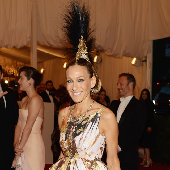 Sarah Jessica Parker Wears Giles + Mohawk at the Met Gala