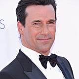 Mad Men's Jon Hamm showed off his signature stare at the Emmys.