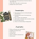 Bridal Shower Checklist