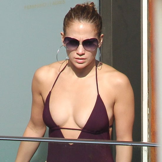 Jennifer Lopez Swimsuit Pictures With Casper Smart