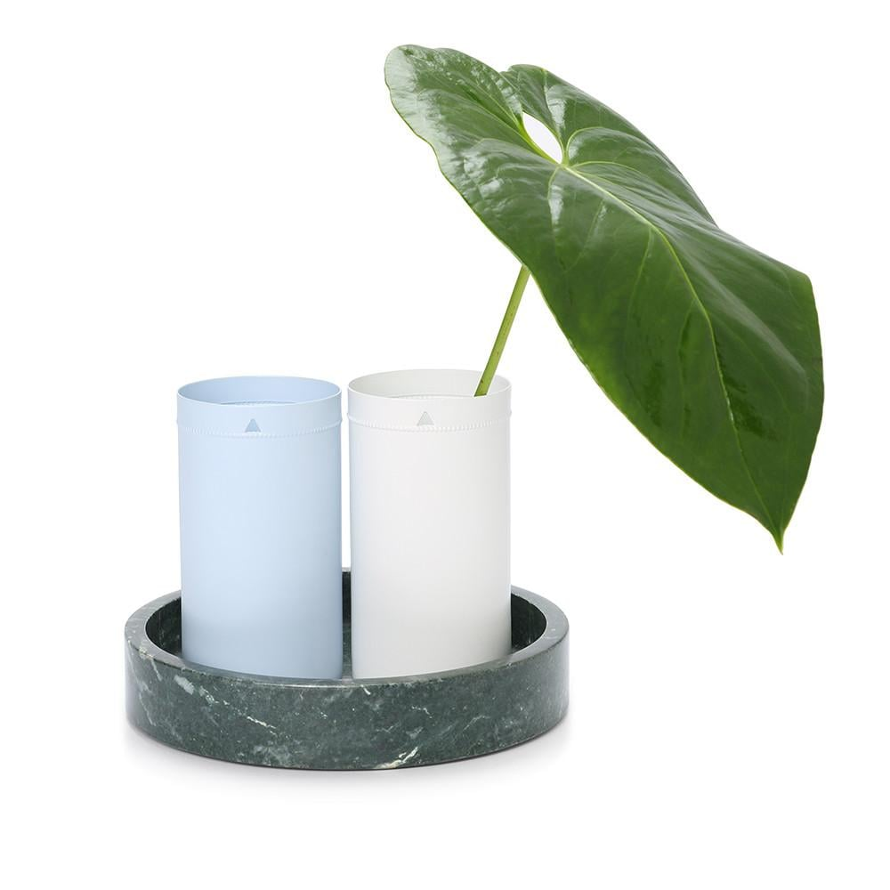 Blanc Lustre Vase ($18.95)