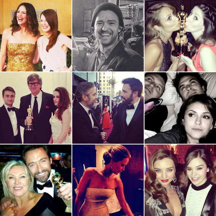 See the Cutest Social Snaps From Award Season 2013!