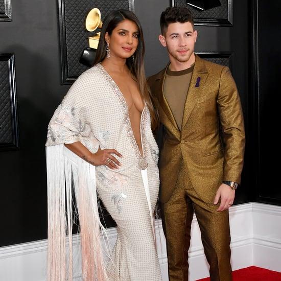 Priyanka Chopra's Ralph & Russo Fringed Gown at the Grammys