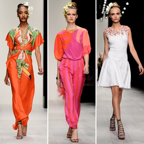 Issa Spring 2013 London Fashion Week