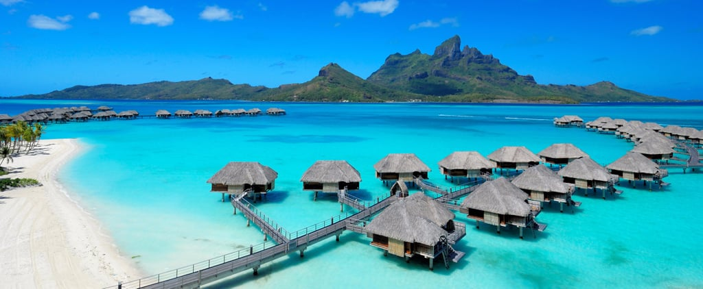 These Overwater Bungalows in Bora Bora Will Make You Want to Move to Paradise For Good