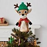 High Point Reindeer Tree Topper