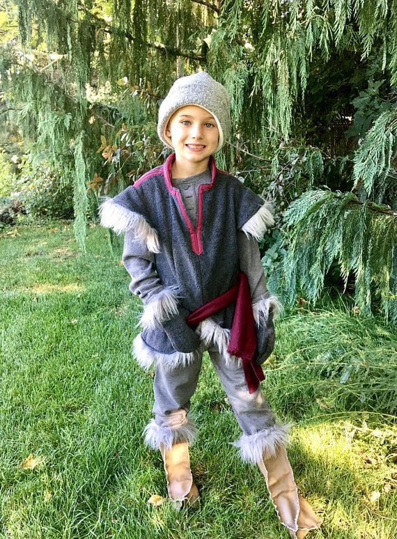 This Handmade Kristoff Costume ($35) for little ones includes basically every detail of the outfit, down to the hat and gloves.