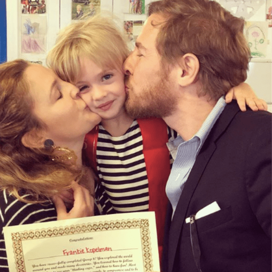 Drew Barrymore and Will Kopelman Attend Frankie's Graduation