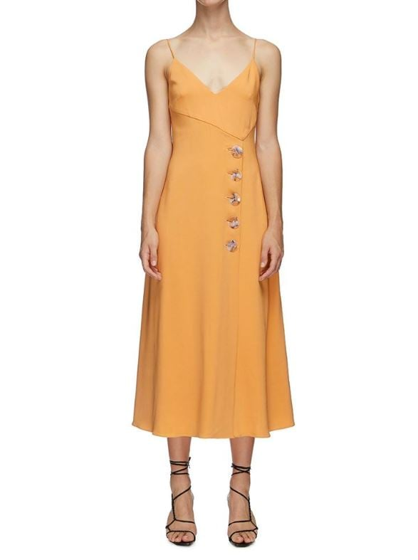 Christopher Esber Tie Back Resin Slip Dress ($790)