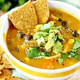 Creamy Pumpkin Tortilla Soup