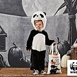 Kids Endangered Panda Costume