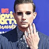 Nico Tortorella Makeup at MTV Movie and TV Awards 2019
