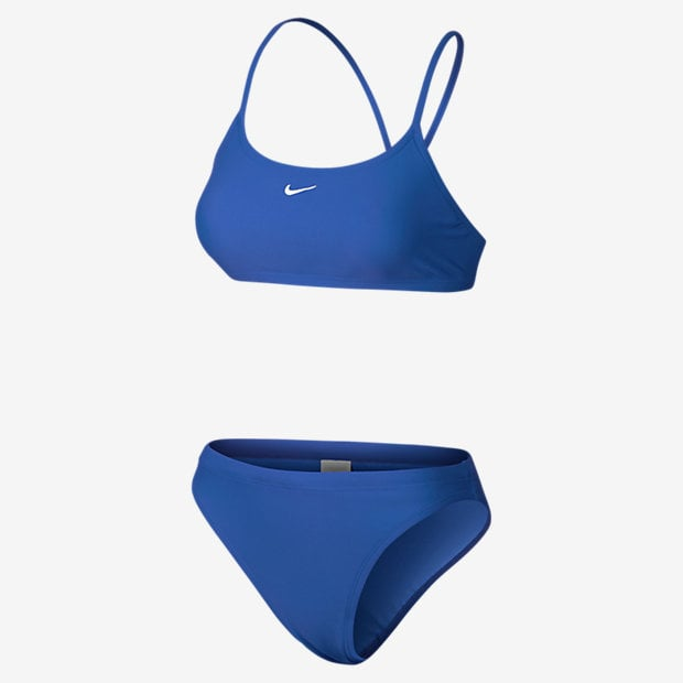 Nike Nylon Core Solid Swimsuit