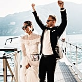 Brandy and Tyler, a couple who originally met on Tinder, eloped in Lake Como, Italy, and kept their guest list to a minimum. See the wedding here!