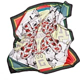 Rock Paper Cloth Beagle Bonanza Silk Scarf