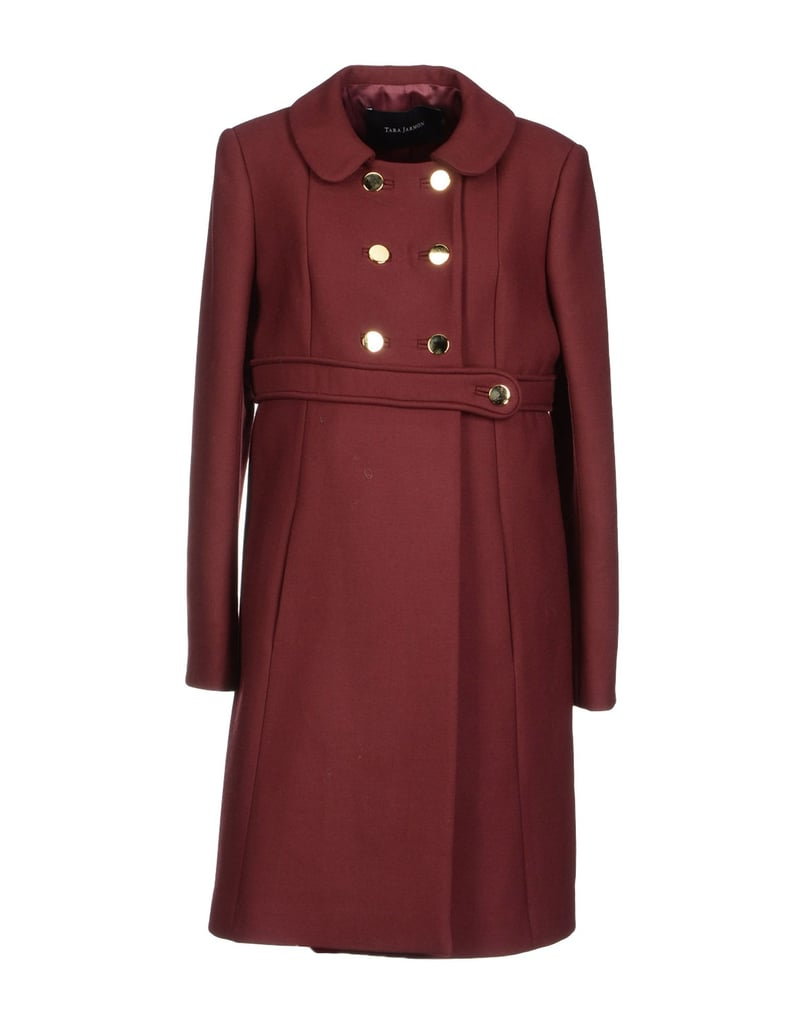 A dressed-up coat ($525) from Tara Jarmon is also a smart pick for Kate's style arsenal.